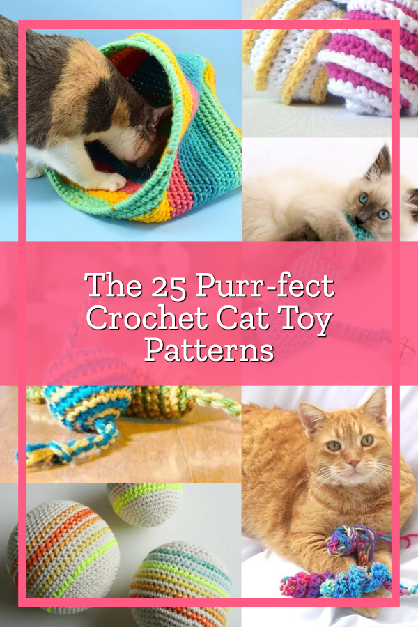 Cat Crochet Patterns You'll Love To Try | The WHOot | 900x600